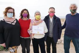 El PSOE de Ibiza concede su primera Insignia de la Igualdad a Pilar Ferrero