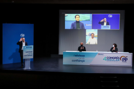 Marí Bosó apuesta por un PP «sólido» como alternativa a la «errática política de la izquierda»