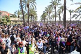 El 8-M sortea las restricciones de la pandemia con actos de pequeño formato en Baleares
