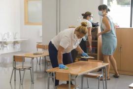 Los centros educativos de Baleares presentan los mejores datos de incidencia desde inicio de curso