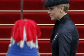 Los Grimaldi, muy elegantes en la fiesta nacional de Mónaco