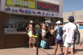 Los 'rent a car' de Formentera consideran que las ayudas al transporte «son una vergüenza»