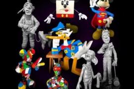 Las esculturas 'pop art' de Juan Carlos Tur llegan este miércoles al Far de ses Coves Blanques
