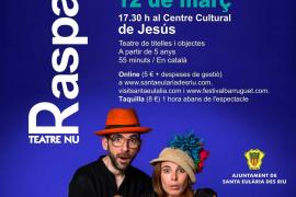 Realismo mágico para toda la familia este viernes en el Centre Cultural de Jesús con 'Raspall'