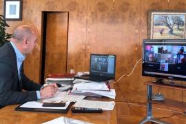 Cs Baleares transmite al PP el «firme compromiso» de continuar con el pacto en el Consell de Ibiza