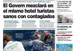 Nueva rectificación en 24 horas en una visita a Ibiza