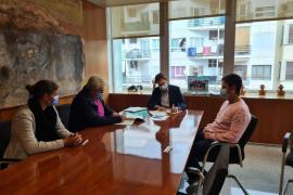 El Consell de Ibiza firma un convenio con el CRIC Ses Salines por el proyecto 'Més Q Basket'
