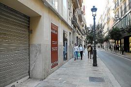 Las ventas del comercio minorista caen casi un 15 % en Baleares en enero