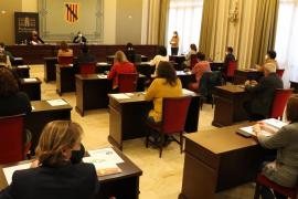 Constituida la Comisión General de Consells Insulars, con la diputada Pilar Carbonero como presidenta de la Mesa