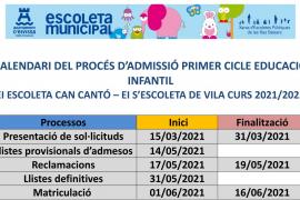 Vila abre el plazo de inscripciones para las guarderías municipales hasta el 31 de marzo