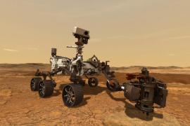 Escucha el sonido real de cómo Perseverance golpea las rocas marcianas