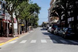 Santa Eulària vuelve a habilitar plazas de párking como terraza