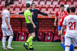 Luis García Plaza: «Hemos estado muy fallones en el último cuarto de campo»
