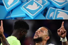 Twitter elimina tu cuenta si tuiteas con el nombre del futbolista Memphis Depay