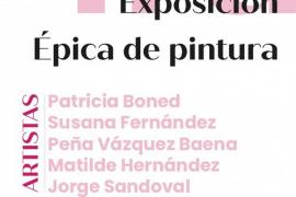 Cinco pintores para una muestra «épica»