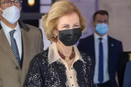 La reina Sofía, vacunada contra la COVID-19 conforme a los protocolos sanitarios