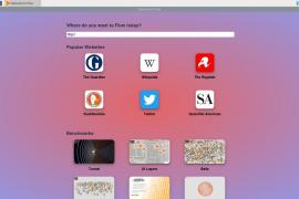Nace Flow, el primer navegador creado desde cero en años