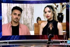 El reencuentro virtual de Manuel y Lucía en 'La isla de las tentaciones': «Volvería a correr detrás de ella mil veces más»