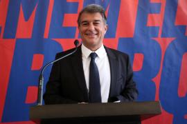 La junta de Laporta firma ante notario el aval de 124,6 millones de euros