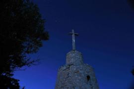 Cruz en Puig de Santa Magdalena