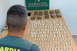 Libre tras ser detenido con 204 dosis de cocaína y un kilo de hachís