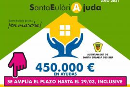 Santa Eulària amplía hasta el 29 de marzo el plazo para pedir las ayudas al alquiler