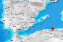 Un terremoto de 5,7 grados en Argelia se deja sentir en Mallorca