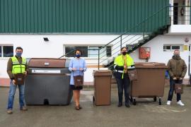 Sant Antoni inicia el 1 de abril la recogida de materia orgánica con la ubicación de 94 contenedores marrones