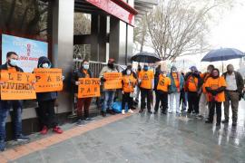 Protesta de la PAH en Palma