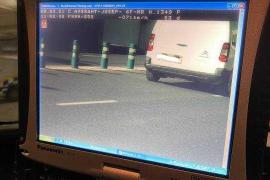 Cazados en Ibiza 31 conductores en un solo día por exceso de velocidad