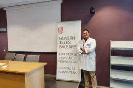 Gonzalo Antonio Espí Senent ha sido nombrado nuevo subdirector de Gestión del Hospital de Formentera