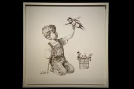 El homenaje de Banksy a los sanitarios recauda más de 16,7 millones de euros para organizaciones benéficas