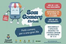 Vuelve la campaña 'Som Comerç Eivissa' con más de 1.500 vales de descuento de 15 euros