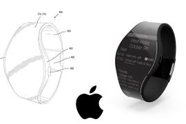 Aparece una patente del Apple Watch con pantalla envolvente y correa adaptativa a la muñeca
