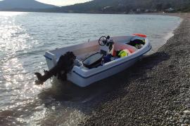 Interceptan una patera en Ibiza con 11 ocupantes