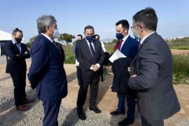 La visita del ministro Jose Luis Ábalos a Ibiza, en imágenes.