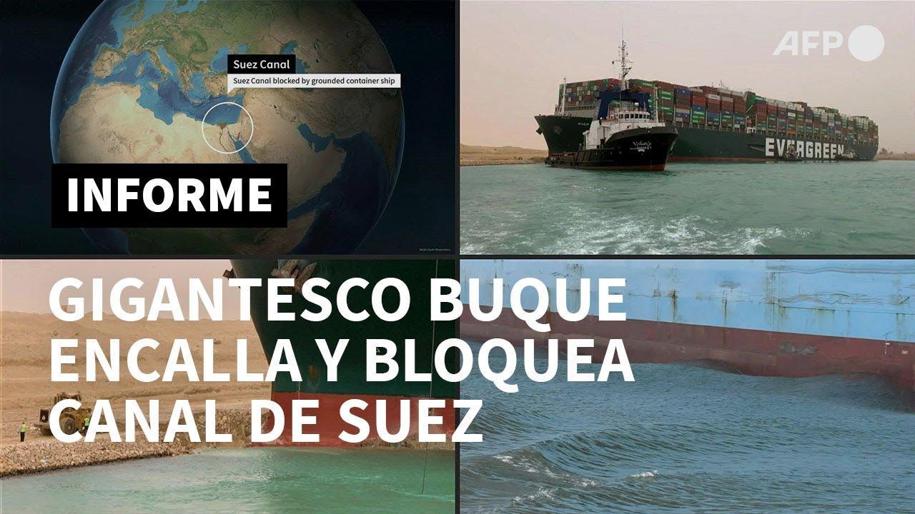 El bloqueo del canal de Suez impulsa más de un 3% el precio del petróleo