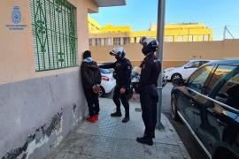 Detenido en Palma al ser 'cazado' en pleno pase de droga