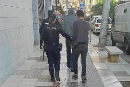 Detenidos dos hombres en Ibiza por robar material de obra