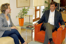 Aina Calvo y Mateu Isern