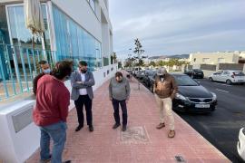 Sant Josep recepciona las obras de mejora de la calle Ávila ubicada en Cala de Bou