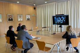 Los agentes económicos y sociales de Sant Josep preocupados ante el comienzo de la temporada