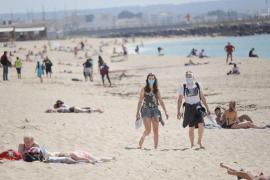 Formentera pide que se reconsidere la obligatoriedad del uso de la mascarilla en las playas
