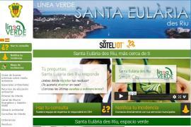 Santa Eulària recibe en siete años más de 19.000 incidencias a través de la Línea Verde