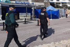 La Guardia Civil refuerza el dispositivo contra el Covid-19 durante la Semana Santa en Baleares