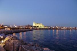 Bahía y catedral de Palma