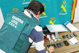 Cae una banda que iba a introducir 11,5 kilos de cocaína en Menorca