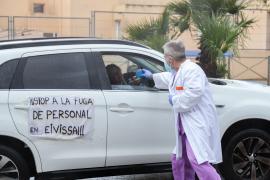 Funcionarios de prisiones y policías se unirán en Ibiza a la protesta de los sanitarios