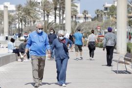 La baja incidencia se mantiene en Baleares aunque el Govern no descarta un repunte por la Semana Santa
