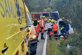 Sale de la UCI el conductor gravemente herido en el Port de Sant Miquel